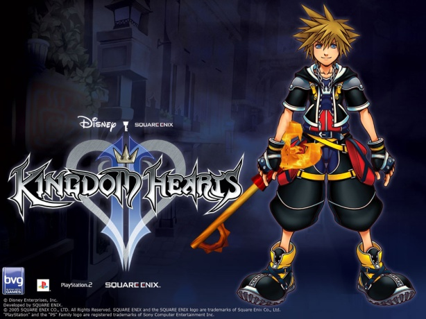 Sora with Keyblade